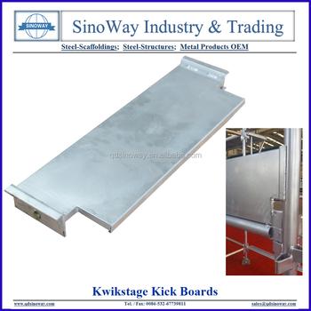 Hot Dip Galvanizing Kwikstage Scaffolding Steel Toe Board