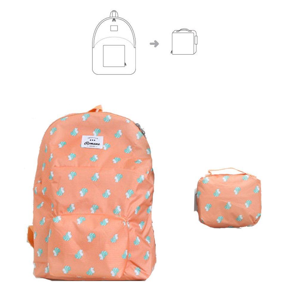 KORENKAB Waterproof Foldable Backpack - Ultralight Packable Outdoor Backpacks Lightweight Waterproof Day Pack - Camping Running Sports Ultra Light Travel Bag for Women Men
