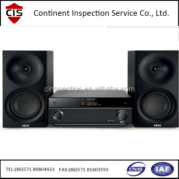 Professional speaker,audio,music mixer,inspection services,factory audit,agency in China For Importers An