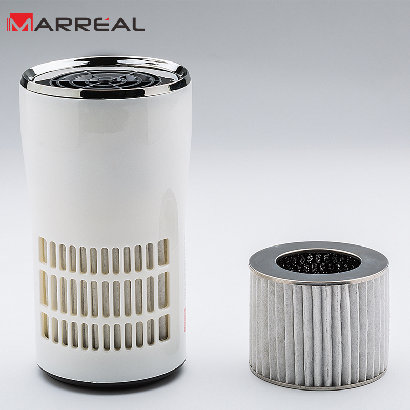 Purifying PM 2.5 Car Air Purifier Portable Car Air Ionizer Personal Air Purifier