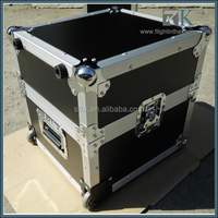 2017 top sell flight case with Telescoping handle dnp rx1 printer road case support OEM