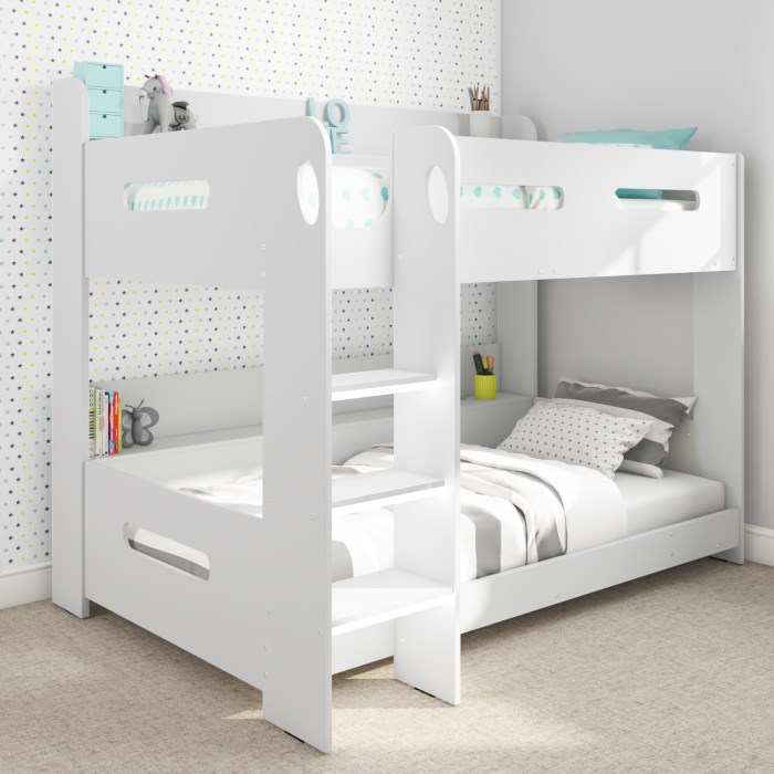 Sky White Bunk Bed Ladder Can Be Fitted Either Side View The Compact Design Saves Floor Space Product Details From Qingdao Lepinkids Homefurnishing Co Ltd On Alibaba Com