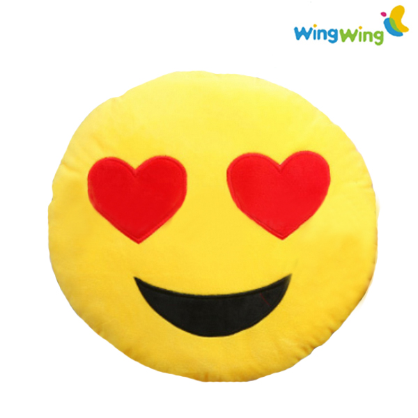 Wholesale Cheap Custom Happiness Emoji Pillow Smiley Face Soft Toys