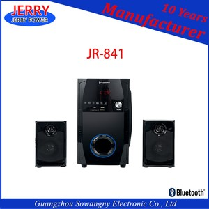 2.1 Active Strong Bass Speaker With Bt Multimedia Speaker System 50 Watt Speaker System