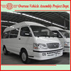 new model front engine mini gasoline light commercial bus and city logistics van