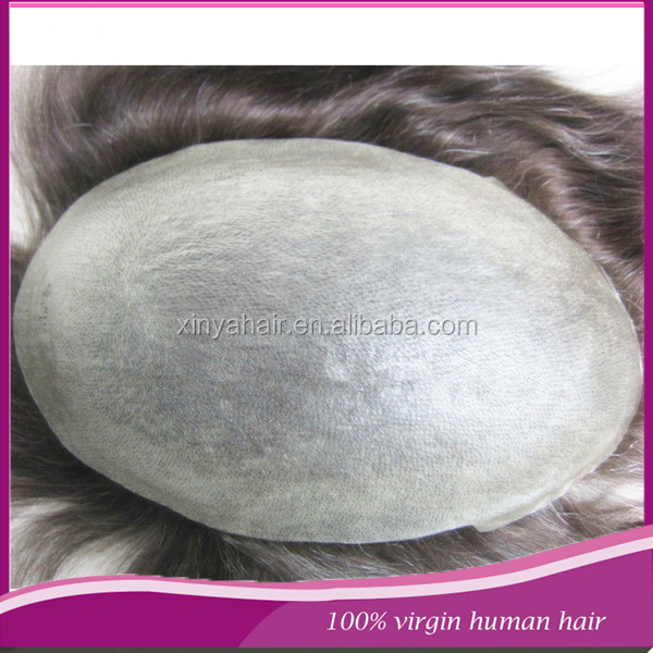 High quality natural looking 6 inch women toupee human hair toupee/natural hair wig for men/stock men hair replacement