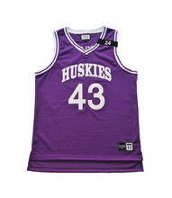 Youth Sport Team Purple Basketball Jersey Customized With Team Brand BJ00140