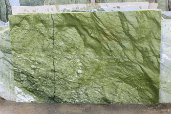 Polished Ming Green Marble Slab