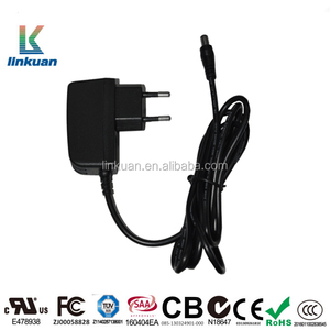 Wall mounted 100-240V 5V 1A 12V 2A Laptop Led AC DC Power adapter and Supply 6W 12W 18W 24W 30W