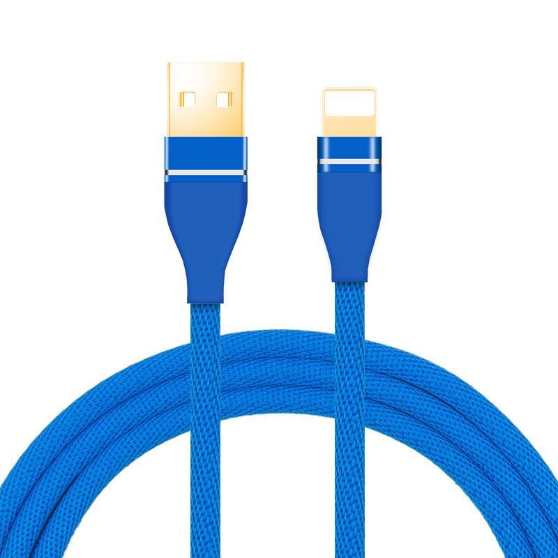 Shenzhen Nylon Braid  Otg USB Cable Cellphone Date Line For  Apple Data Line For iPhone Charger