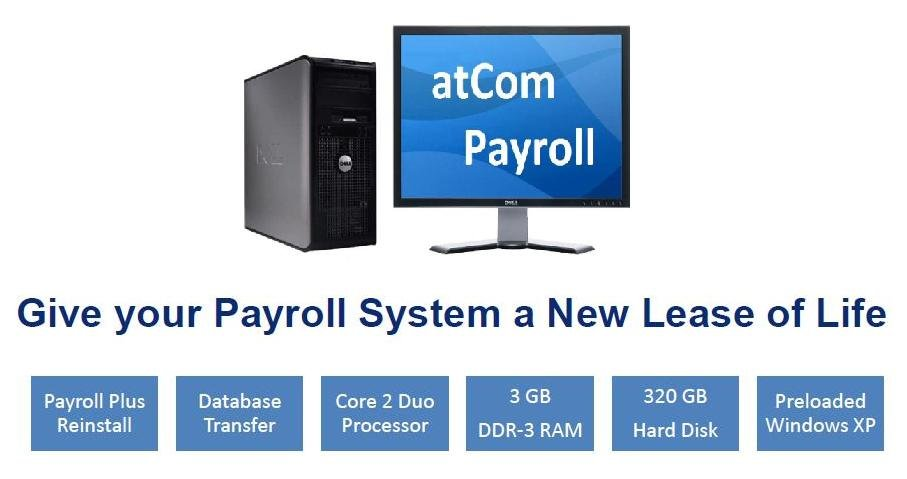 Payroll Reinstallation with New PC