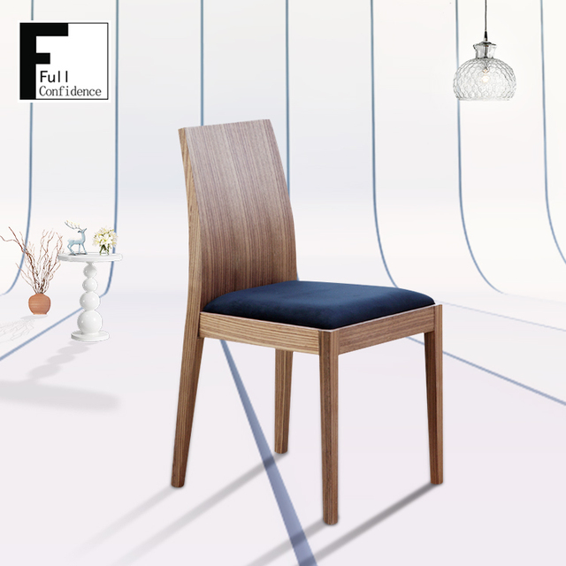 Perfect Modern Elegant Dining Room Furniture Wooden Frame Chair
