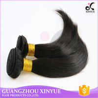 Cheap Indian Human Hair Weave 100 Raw Unprocessed Straight Hair
