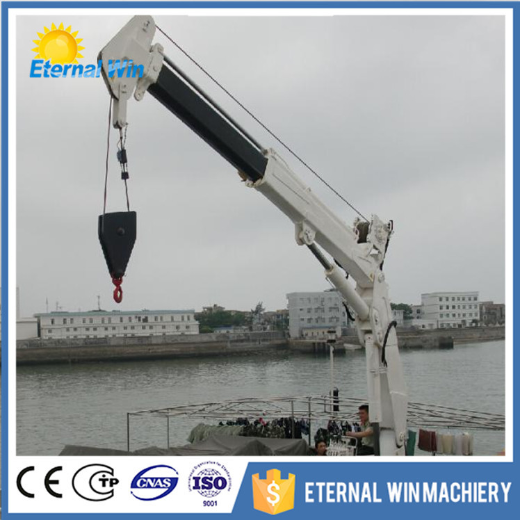 Yacht Hydraulic Crane : New model hydraulic marine boat yacht ship crane for sale