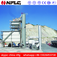 Road construction brand asphalt mix batch plant is on hot sale