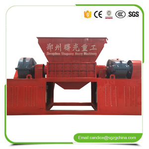 Widely used plastic bottles crushing shredder small waste glass recycling machine for sale