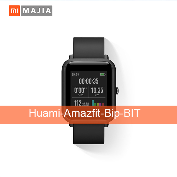 New Huami Amazite Original Bip BIT Lite Youth Smart Watch Mi Fit Reflect Smartwatch Baro IP68 COMPOSITION Water for Xiaomi