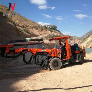 China Hard Rock Drilling Jumbo Machine With Hydraulic System For Sale