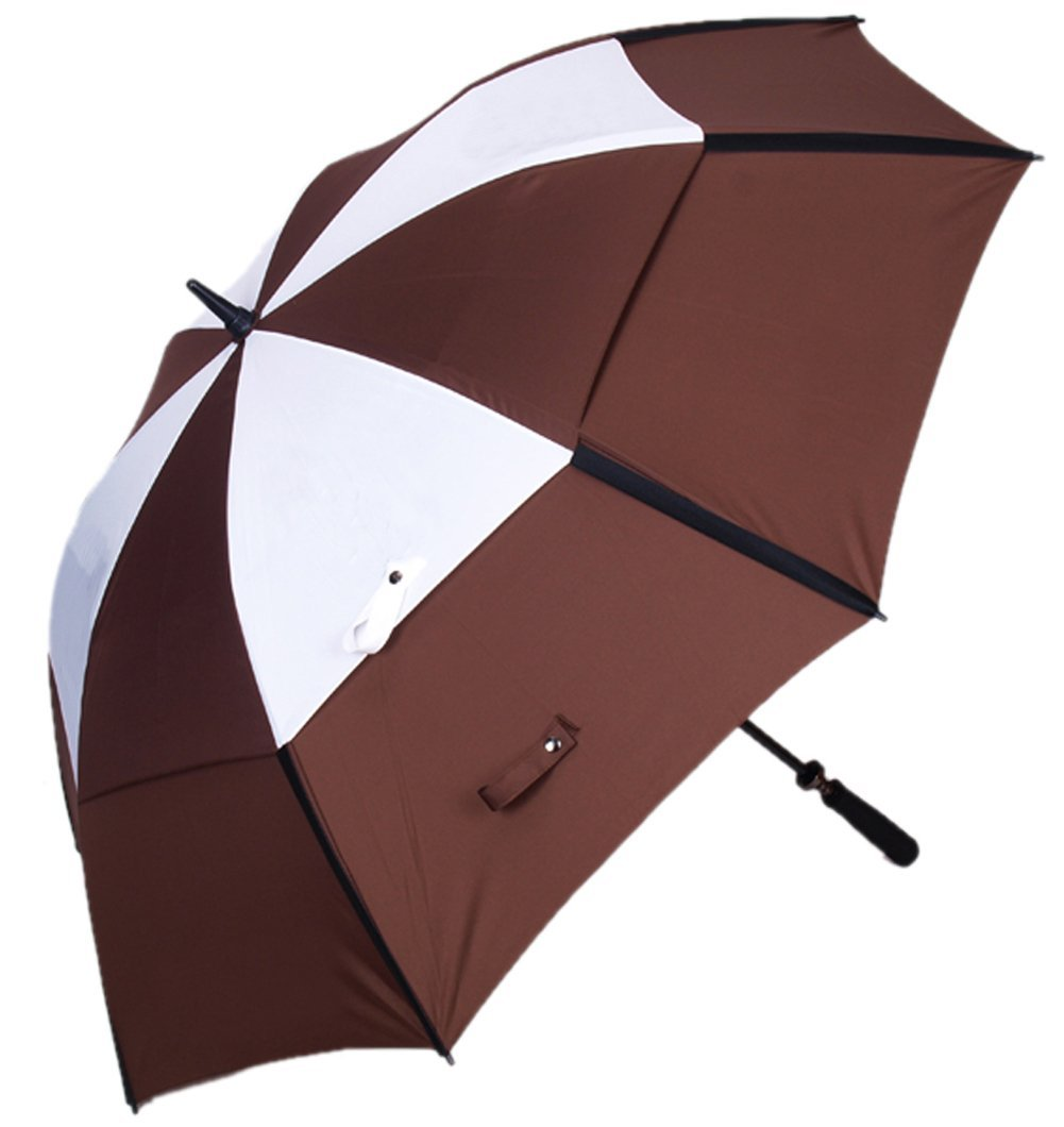 52a307bd7f7d Buy ABUSA Windproof UV Protection Golf Umbrella Large Double Canopy ...
