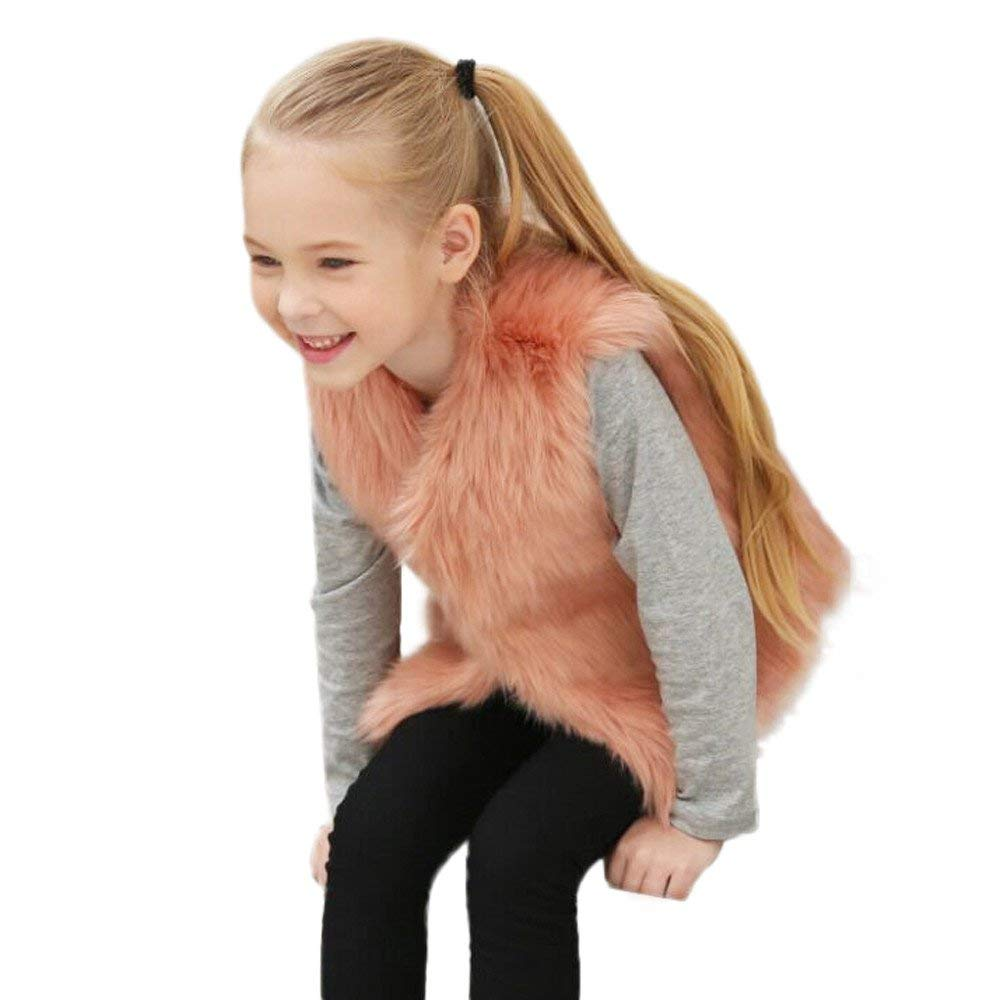 daeb9d4be Cheap Girls Red Fur Coat
