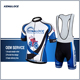 Coolmax Team Specialized Custom Cycling Jersey With Bib Short