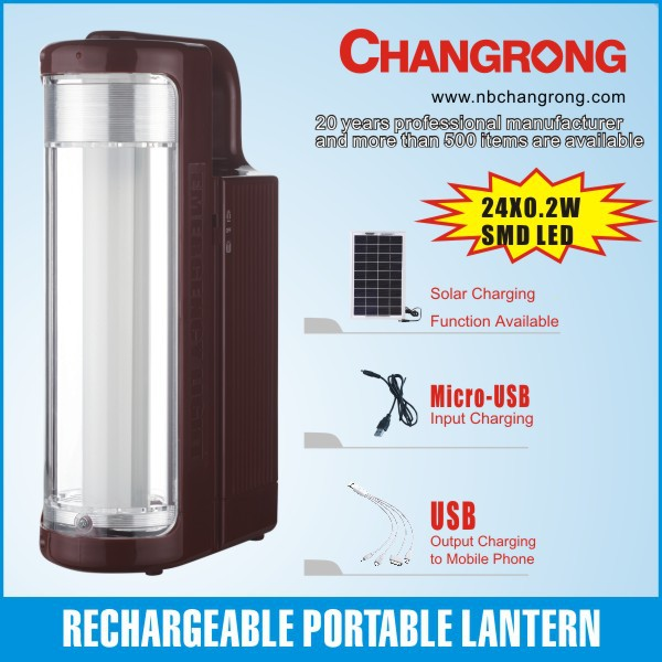 China emergency led light lamp rechargeable led electric charge light