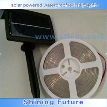 Fabrikanten Supply Zonne-energie Waterdichte Led Strip Verlichting ...