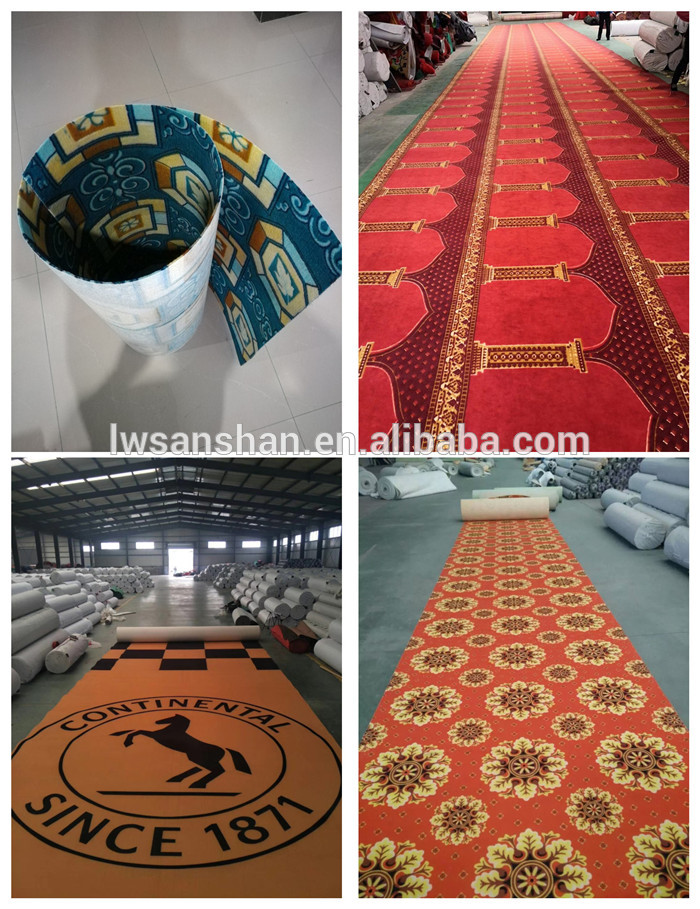 2019 New product polyester 3D printed living room carpet