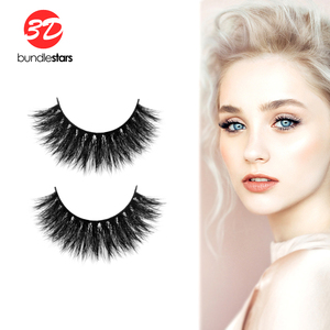 Brand new eye lash treatment reusable siberian fur false eyelashes 100% real 3d mink with high quality