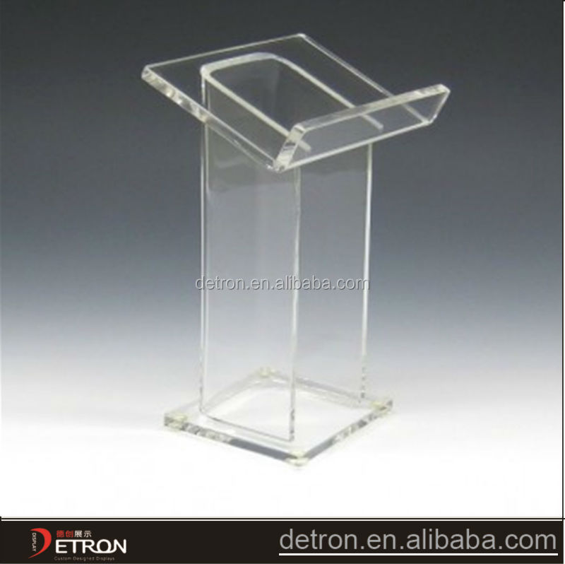 Clear mooie acryl open boek display stand