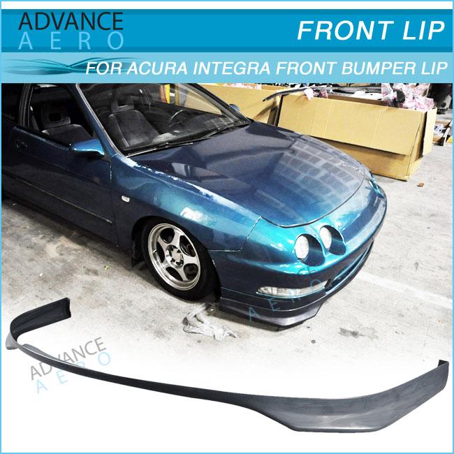 For Acura Integra Evo Style Pu Front Bumper Lip Spoiler - 1997 acura integra front bumper