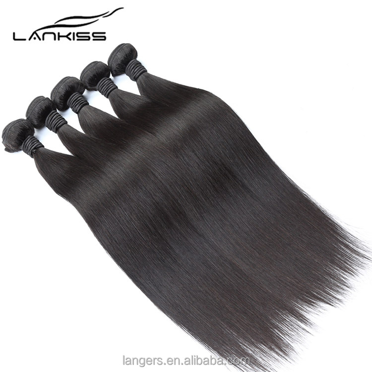 100% Unprocessed Raw Indian Human Virgin Hair Short Black Natural Styles