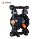 GODO QBY3-20/25 Cast Steel Pneumatic Diaphragm Pump mud Sewage pumps farming water pump