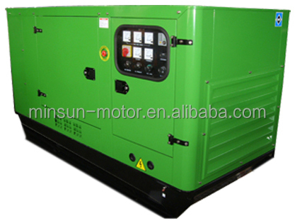 single phase and three phase diesel generator set 12kv with canopy