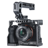 DSLR A7M3 Camera Stabilizer Cage A7R3 Camera Cage for Sony A7R III / A7M3/ A7 III With Arri Locating Hole 4/1 8/3 Threads hole