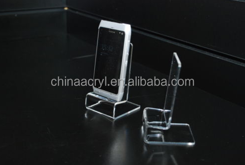 wholesale display stand clear mobilephone acrylic display