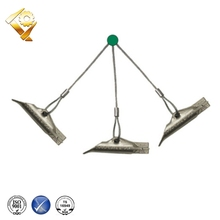 steel ground earth soil asphalt shed anchors