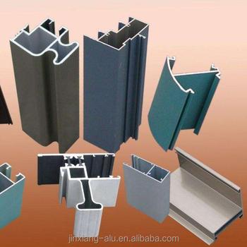 Cream/ Black Extruded Aluminium Profile Window And Door - Buy Aluminium  Profiles For Windows,Aluminium Window Profile,Window Casing Profiles  Product