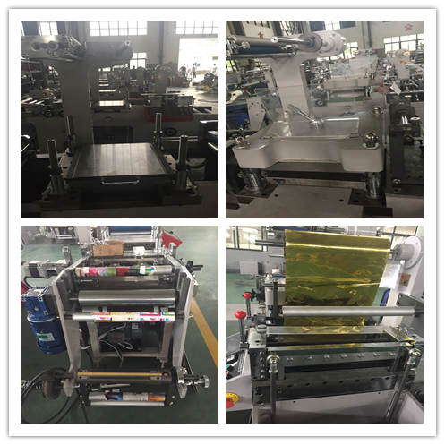 WQM-320G Screen Protector & Adhesive label rotary sterven snijmachine