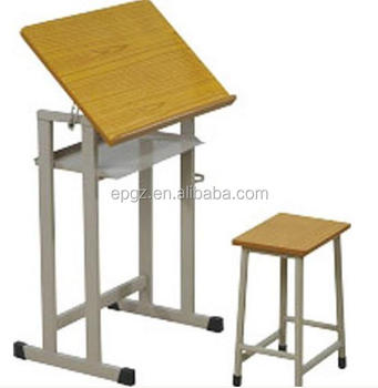 Beau Kids Wood Drawing Table,Drafting Table For Kids,Art Tables For Students