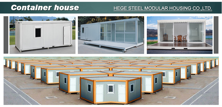 Two floor Luxury flat pack Container Houses for labor dormitory