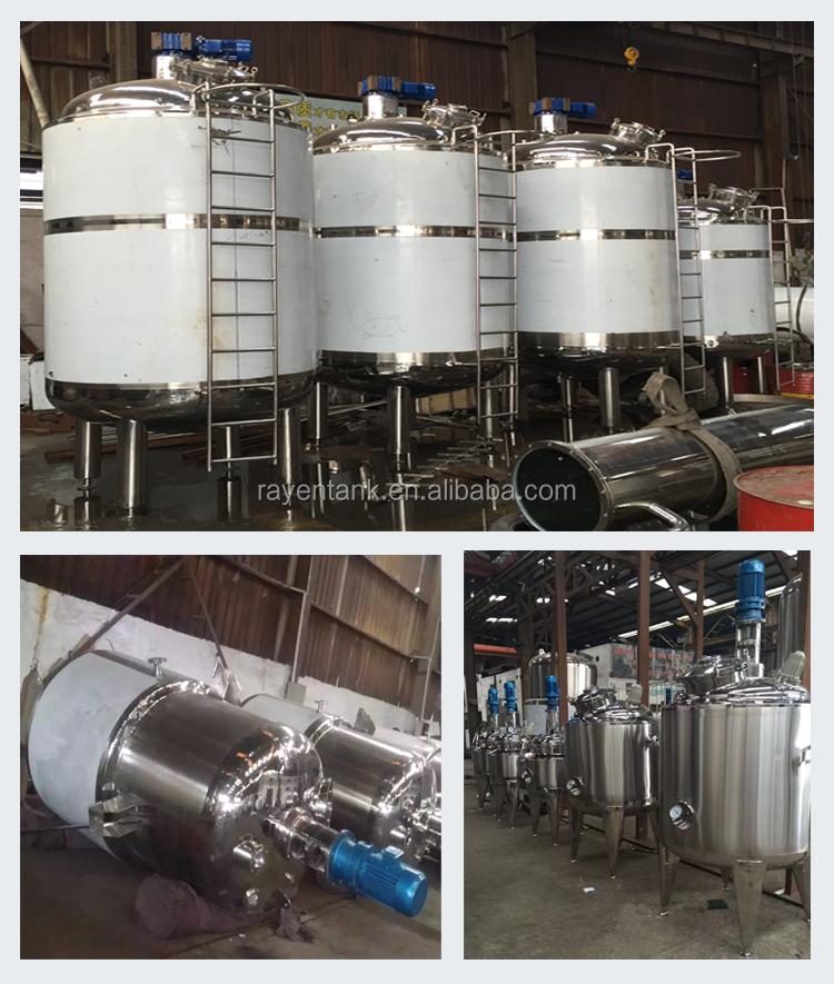Serbatoi di stoccaggio del carburante in acciaio inox cisterna chimica