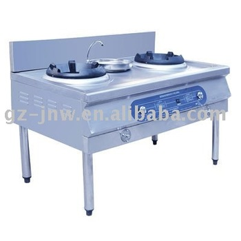 LC-QCL-SW Gas double burner oven with water tap for chinese gas cooker passed ISO9001