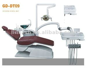 GD-DT09 Unit with LED lamp light and scaler dentist chairs
