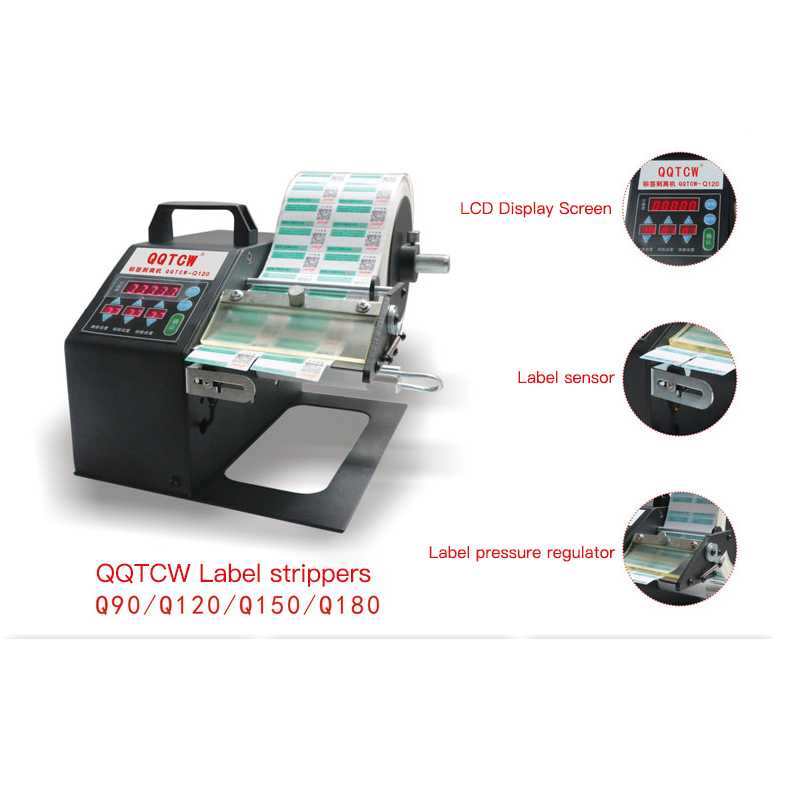 Electric label stripping machine Label tag peeling dispenser machine label stripper