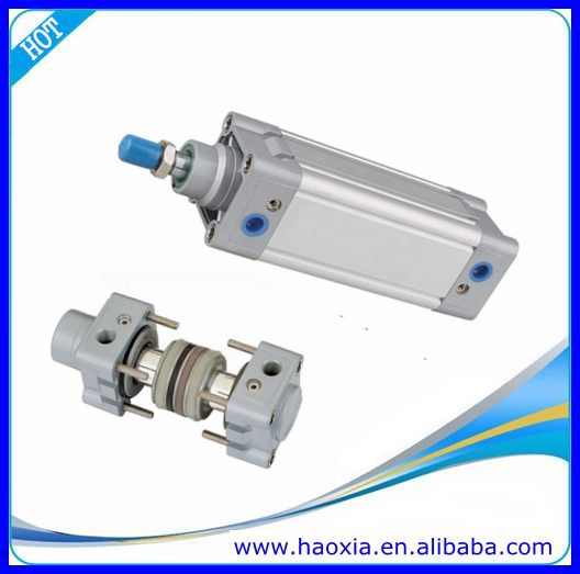 China Double Acting SMC Air Cylinder With Attach Buffer