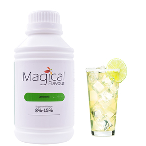 Lemon Soda Water & Oil Soluble E Juice No Alcohol Concentrate Flavor