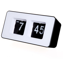 world time wall clock decor Unique Retro Cube Nice Desk Wall Auto Flip Clock