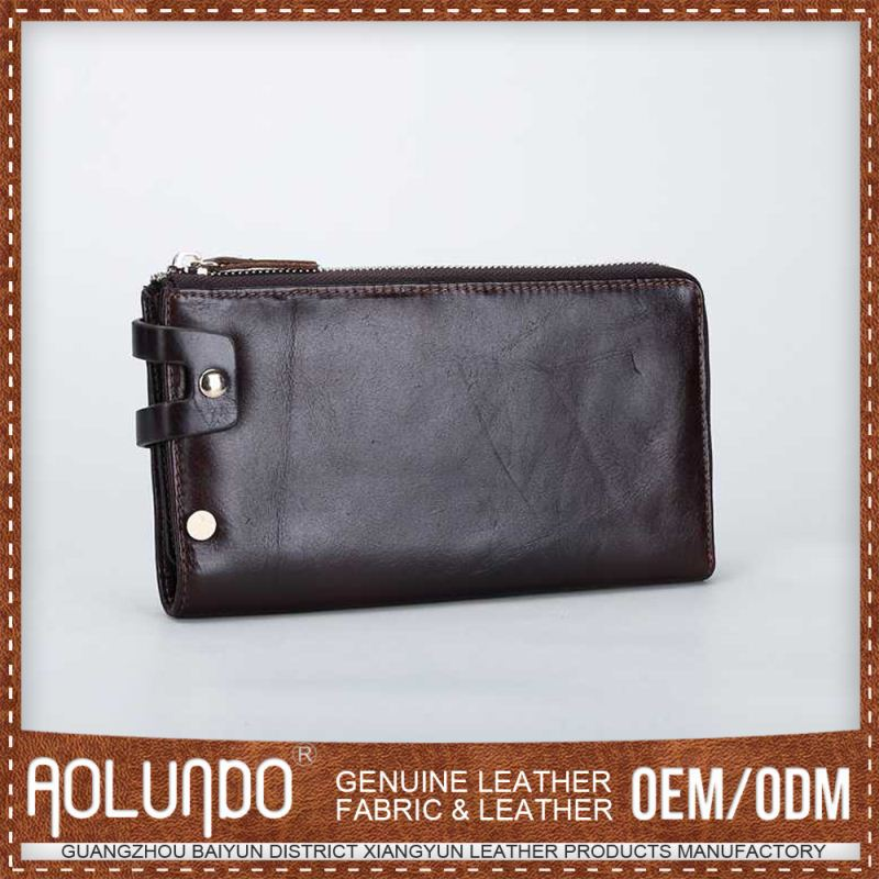 Genuine Leather Men Coin Walets