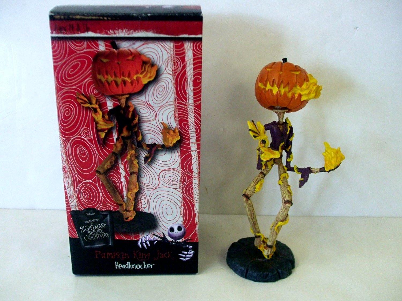 Buy Nightmare Before Christmas Pumpkin King Jack Headknocker by NECA ...